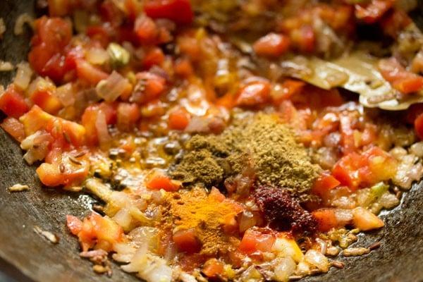 making cabbage fried rice recipe