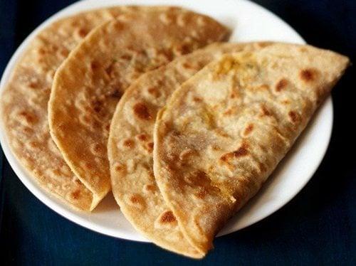 cabbage paratha recipe