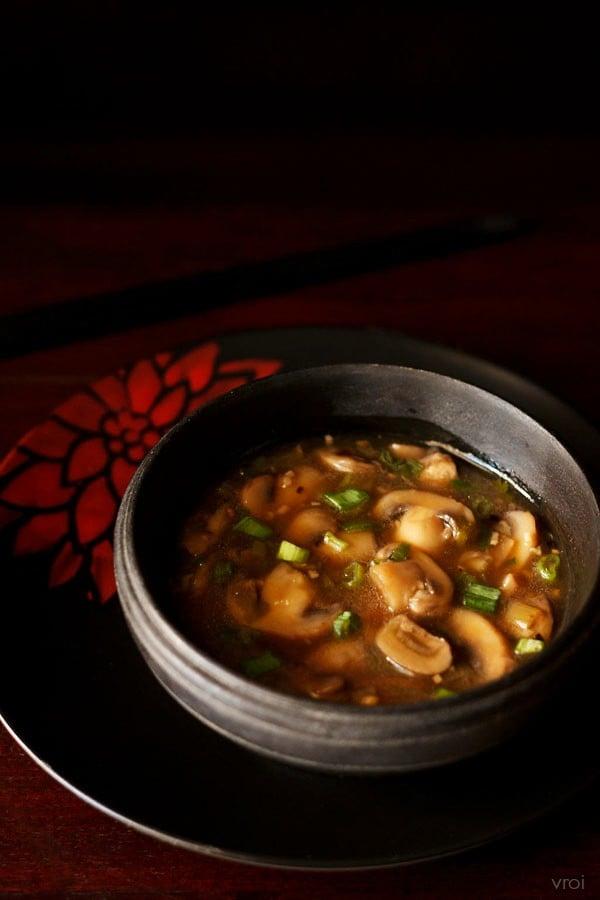 Chinese garlic mushroom recipe