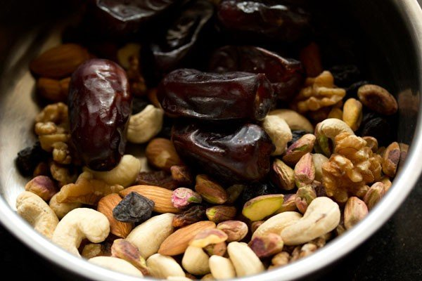 dry fruits for eggless fruit cake recipe