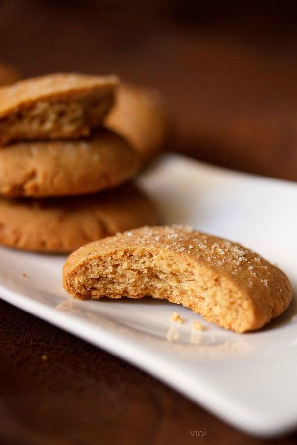 eggless gingerbread cookies recipe
