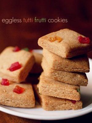 tutti frutti cookies recipe
