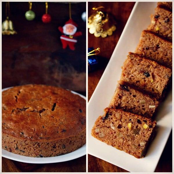 Kerala Plum Cake No Eggs No Alcohol Whole Wheat