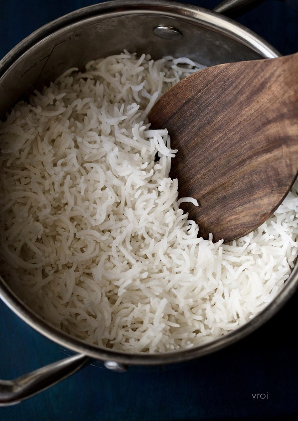 how to basmati cook rice in a pan
