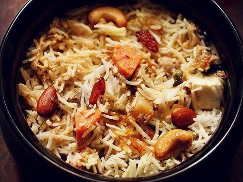 mughlai veg biryani recipe