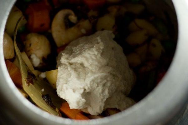 making mughlai vegetable biryani recipe