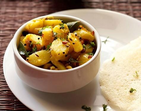 potato curry for masala dosa