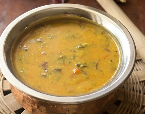 red amaranth sambar recipe