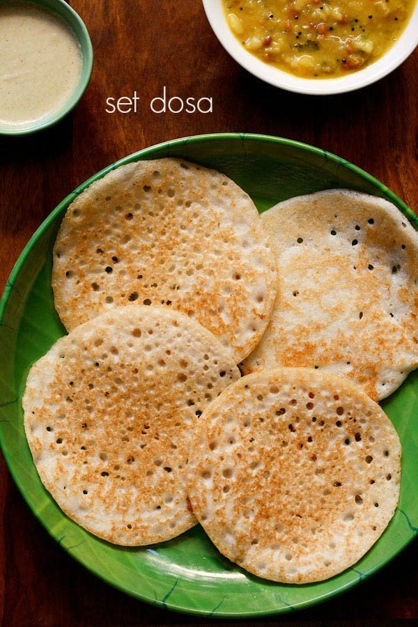 set dosa recipe, how to make set dosa recipe | sponge dosa recipe