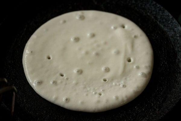 making plain uttapam recipe