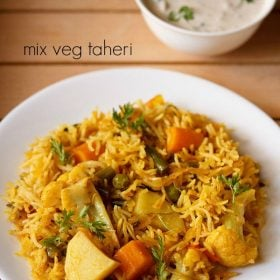 vegetable tahiri recipe