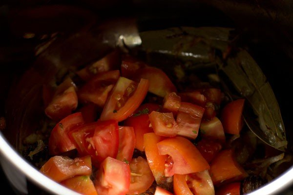 tomatoes for vegetable tahiri recipe