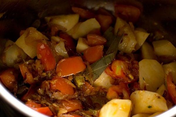 potatoes for vegetable tahiri recipe