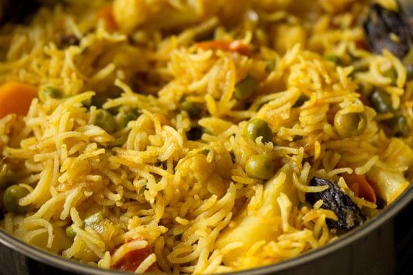 veg tahiri recipe, vegetable tahiri recipe