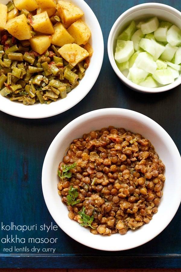 akkha masoor recipe
