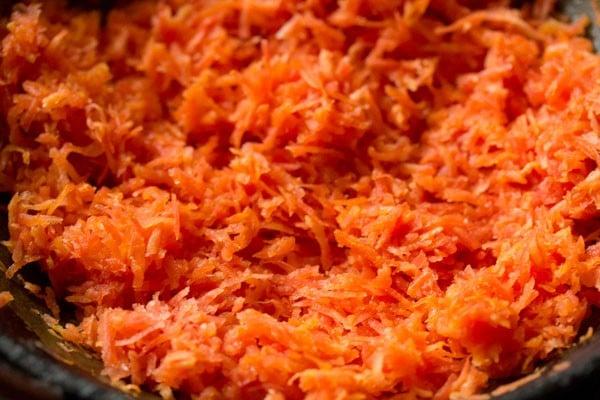 carrot for carrot burfi recipe