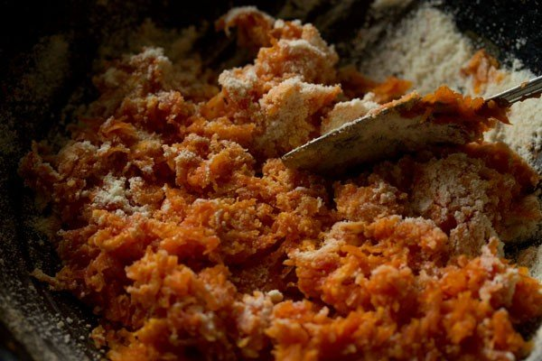 milk powder for carrot burfi recipe