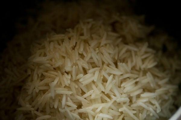 making palak rice recipe