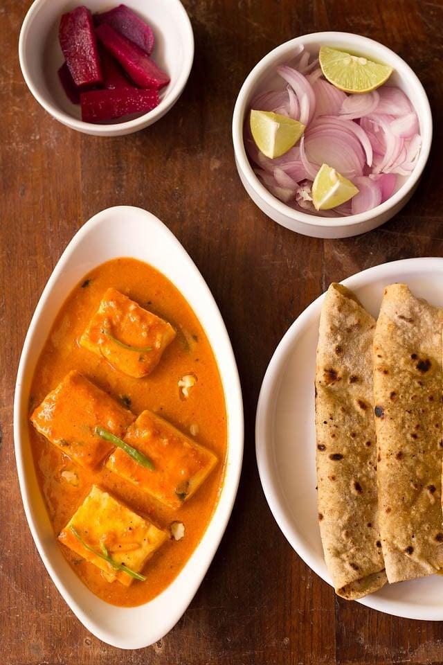 पनीर बटर मसाला रेसिपी, paneer butter masala recipe in hindi langauge