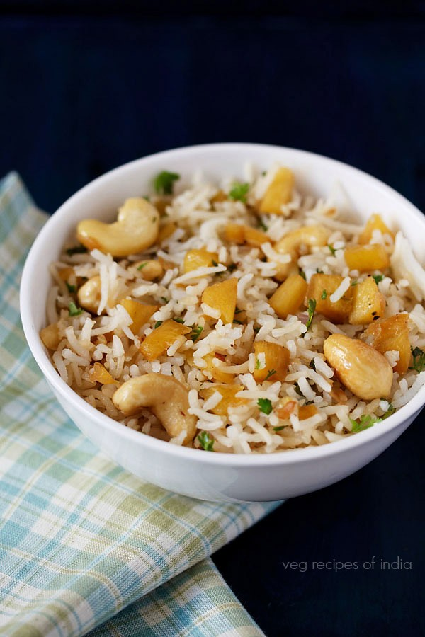 how to make white fried rice