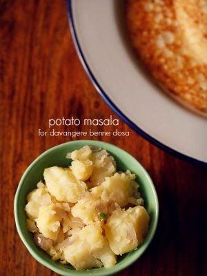 potato palya recipe for davangere benne dosa