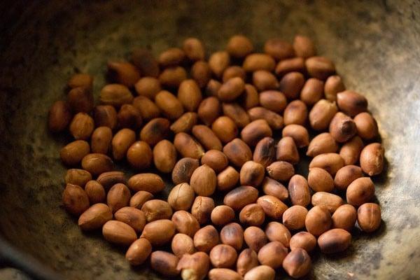 peanuts for til ke laddu recipe