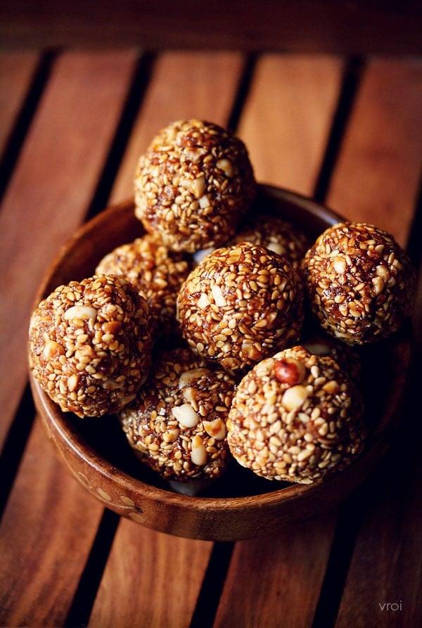 Til Ladoo Recipe Healthy Sesame Seeds Ladoo Recipe Til