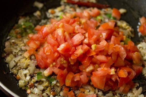 tomatoes for tomato upma recipe