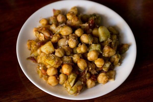 chaat masala for aloo chana chaat recipe