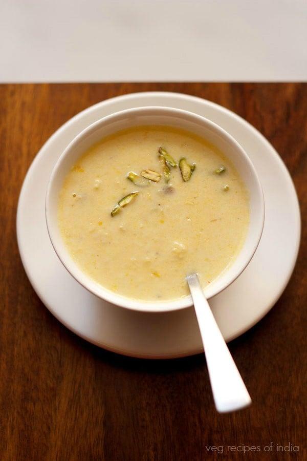 corn kheer recipe