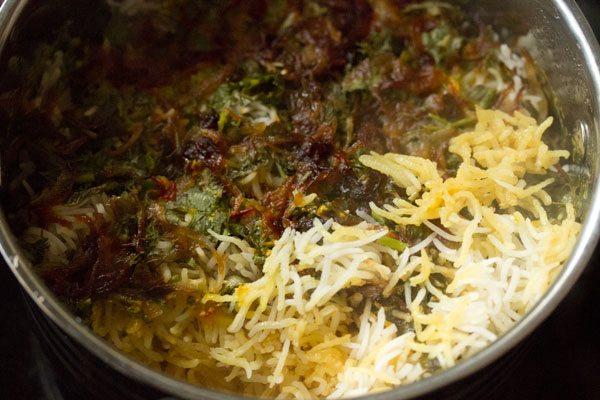 making hyderabadi veg biryani recipe