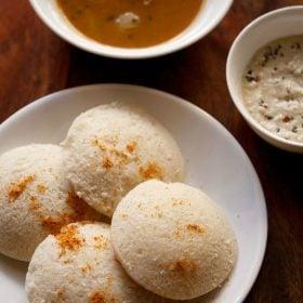 idli recipe with idli batter in mixie