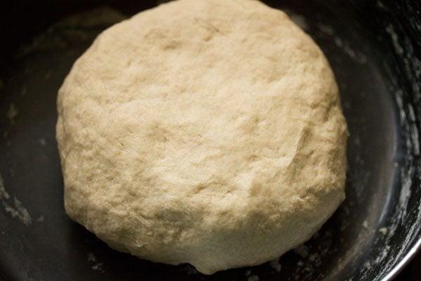 dough for matar paratha recipe