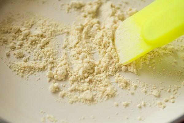 besan for matar paratha recipe