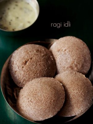 ragi idli recipe, how to make ragi idli