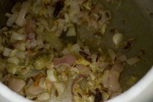 ginger for veg masala khichdi recipe
