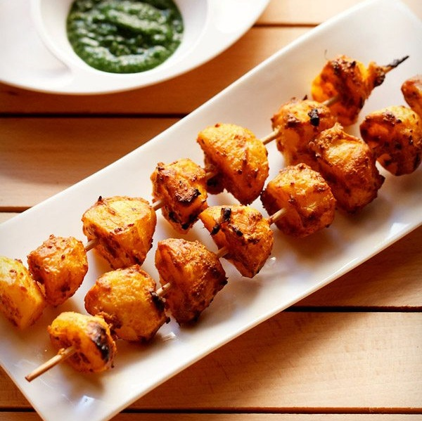 Tandoori Aloo Recipe How To Make Tandoori Aloo Aloo