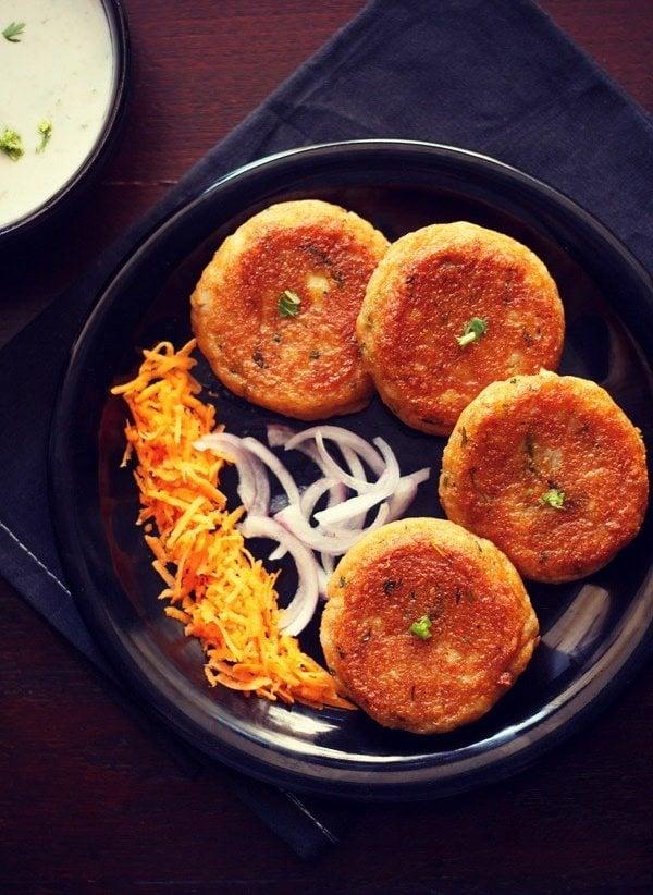 tikki recipes | 16 veg cutlet recipes | veg patties recipes