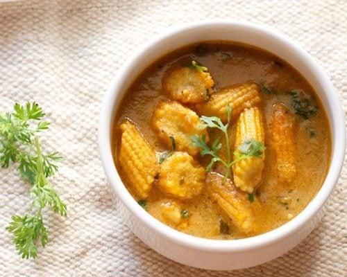 baby corn curry recipe