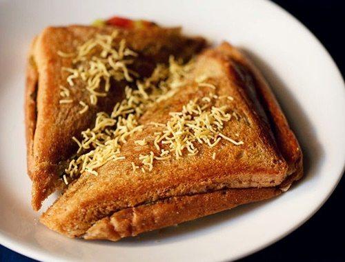 bombay masala toast sandwich recipe