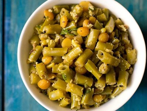 Veg Cake Recipe In Marathi Language: Chawli Bhaji Recipe, Long Beans Sabzi