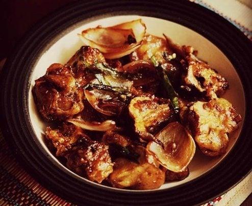 mushroom capsicum recipe