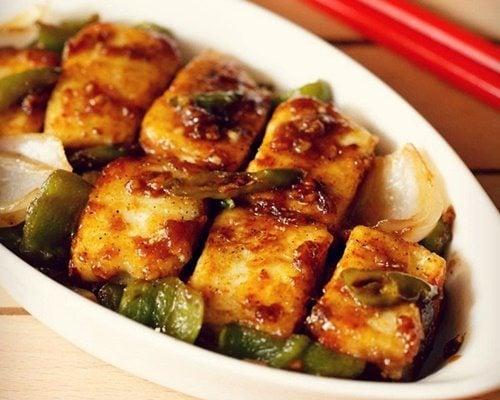 chilli paneer capsicum recipe