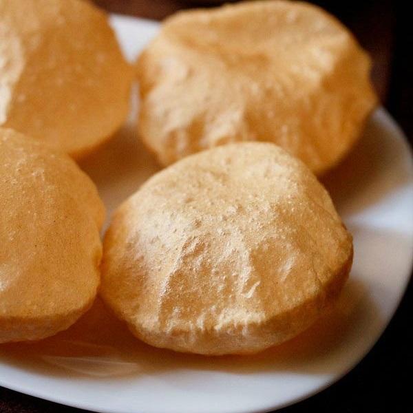 crisp soft poori recipe