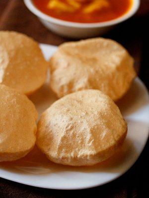 crisp poori recipe