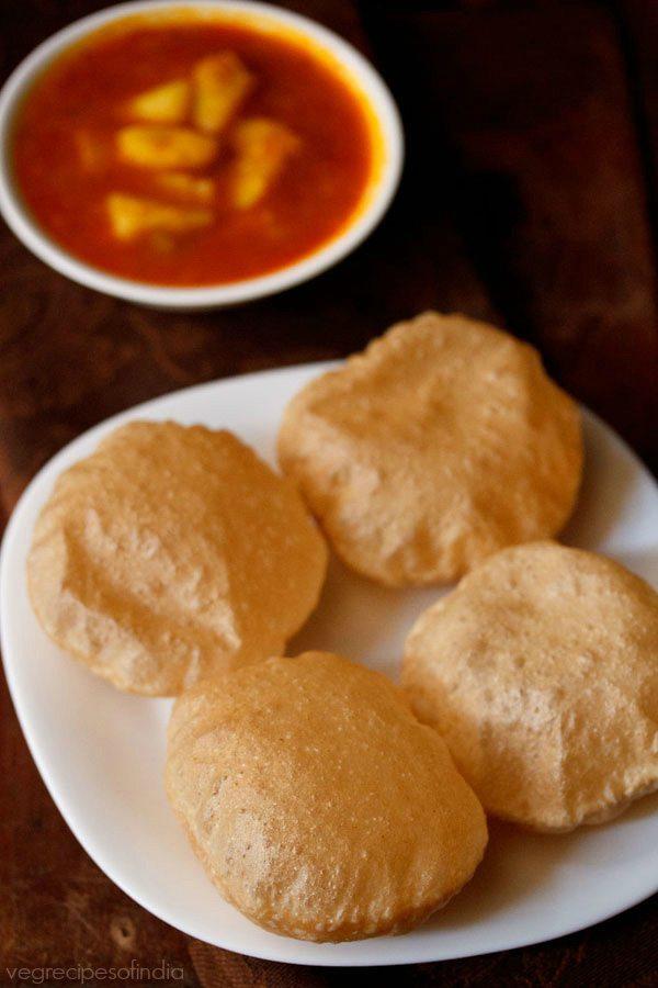 how to make crisp poori