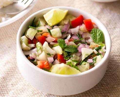 kachumber or kuchumber salad recipe