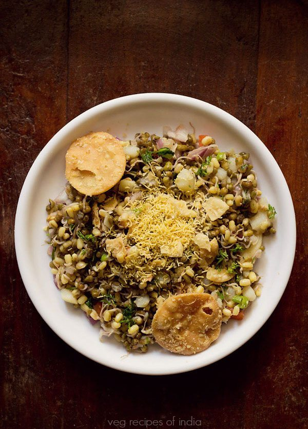 moong sprouts chaat