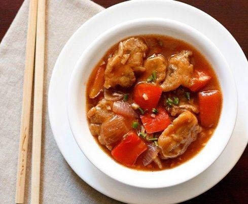 manchurian capsicum recipe
