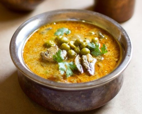 mushroom peas curry recipes
